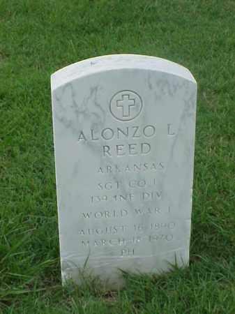 REED (VETERAN WWI), ALONZA L - Pulaski County, Arkansas | ALONZA L REED (VETERAN WWI) - Arkansas Gravestone Photos