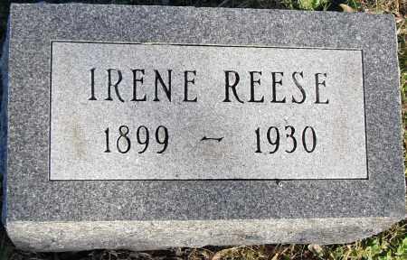 REESE, IRENE - Pulaski County, Arkansas   IRENE REESE - Arkansas Gravestone Photos