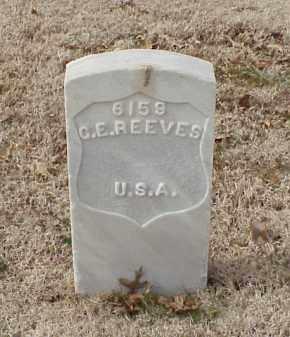 REEVES (VETERAN UNION), G E - Pulaski County, Arkansas | G E REEVES (VETERAN UNION) - Arkansas Gravestone Photos