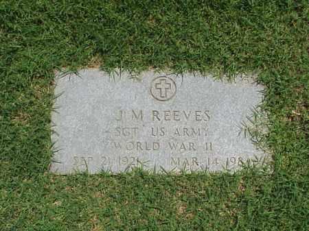REEVES (VETERAN WWII), JAMES M - Pulaski County, Arkansas   JAMES M REEVES (VETERAN WWII) - Arkansas Gravestone Photos