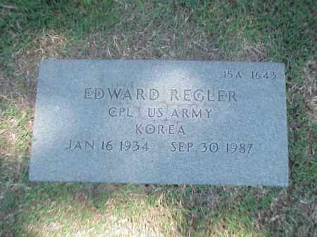 REGLER (VETERAN KOR), EDWARD - Pulaski County, Arkansas | EDWARD REGLER (VETERAN KOR) - Arkansas Gravestone Photos