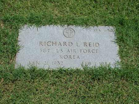 REID (VETERAN KOR), RICHARD L - Pulaski County, Arkansas   RICHARD L REID (VETERAN KOR) - Arkansas Gravestone Photos