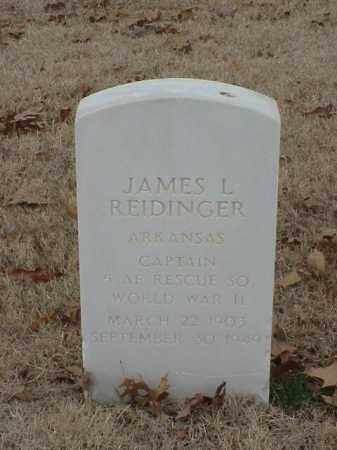 REIDINGER (VETERAN WWII), JAMES L - Pulaski County, Arkansas | JAMES L REIDINGER (VETERAN WWII) - Arkansas Gravestone Photos
