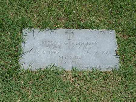 REIGHLEY (VETERAN WWI), JOSEPH G - Pulaski County, Arkansas | JOSEPH G REIGHLEY (VETERAN WWI) - Arkansas Gravestone Photos