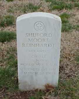 REINHARDT  (VETERAN 2 WARS), SHUFORD MOORE - Pulaski County, Arkansas | SHUFORD MOORE REINHARDT  (VETERAN 2 WARS) - Arkansas Gravestone Photos