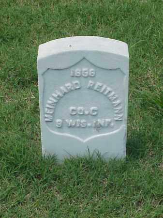 REITMANN (VETERAN UNION), MEINHARD - Pulaski County, Arkansas   MEINHARD REITMANN (VETERAN UNION) - Arkansas Gravestone Photos