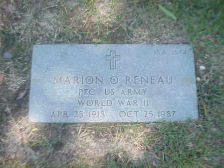 RENEAU (VETERAN WWII), MARION O - Pulaski County, Arkansas   MARION O RENEAU (VETERAN WWII) - Arkansas Gravestone Photos