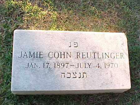 COHN REUTLINGER, JAMIE - Pulaski County, Arkansas | JAMIE COHN REUTLINGER - Arkansas Gravestone Photos