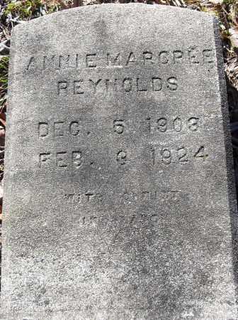 REYNOLDS, ANNIE MARCREE - Pulaski County, Arkansas | ANNIE MARCREE REYNOLDS - Arkansas Gravestone Photos