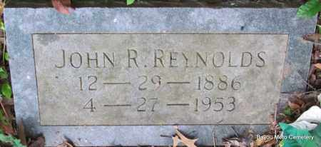 REYNOLDS, JOHN R - Pulaski County, Arkansas | JOHN R REYNOLDS - Arkansas Gravestone Photos