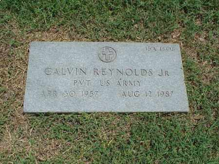 REYNOLDS, JR (VETERAN), CALVIN - Pulaski County, Arkansas | CALVIN REYNOLDS, JR (VETERAN) - Arkansas Gravestone Photos