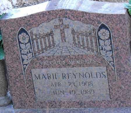 REYNOLDS, MARIE - Pulaski County, Arkansas | MARIE REYNOLDS - Arkansas Gravestone Photos