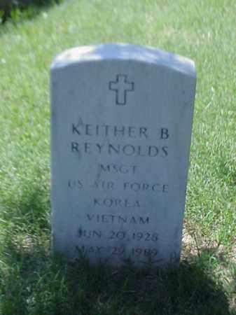 REYNOLDS (VETERAN 2 WARS), KEITHER B - Pulaski County, Arkansas   KEITHER B REYNOLDS (VETERAN 2 WARS) - Arkansas Gravestone Photos