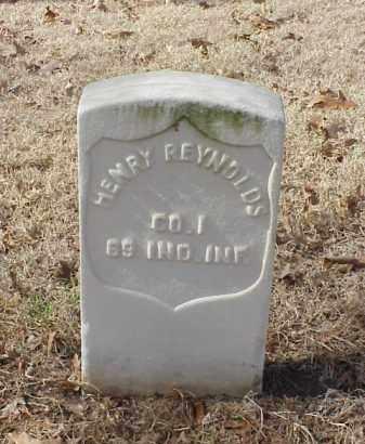 REYNOLDS (VETERAN UNION), HENRY - Pulaski County, Arkansas | HENRY REYNOLDS (VETERAN UNION) - Arkansas Gravestone Photos