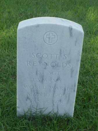 REYNOLDS (VETERAN WWII), SCOTT S - Pulaski County, Arkansas   SCOTT S REYNOLDS (VETERAN WWII) - Arkansas Gravestone Photos
