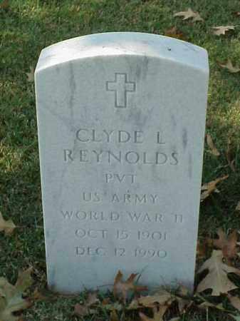 REYNOLDS (VETERAN WWII), CLYDE L - Pulaski County, Arkansas | CLYDE L REYNOLDS (VETERAN WWII) - Arkansas Gravestone Photos