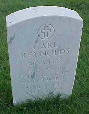 REYNOLDS (VETERAN WWII), CARL - Pulaski County, Arkansas | CARL REYNOLDS (VETERAN WWII) - Arkansas Gravestone Photos