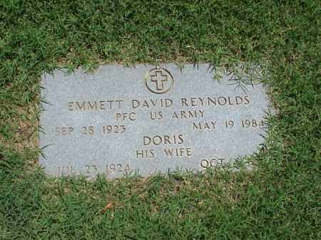 REYNOLDS (VETERAN WWII), EMMETT DAVID - Pulaski County, Arkansas | EMMETT DAVID REYNOLDS (VETERAN WWII) - Arkansas Gravestone Photos