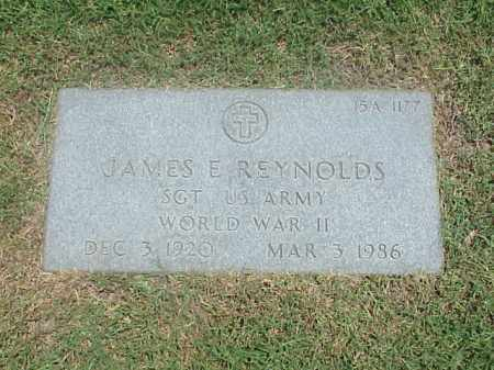 REYNOLDS (VETERAN WWII), JAMES E - Pulaski County, Arkansas | JAMES E REYNOLDS (VETERAN WWII) - Arkansas Gravestone Photos