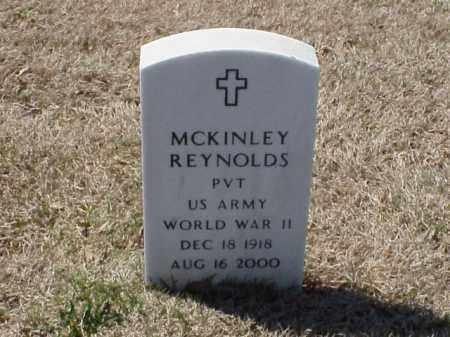 REYNOLDS (VETERAN WWII), MCKINLEY - Pulaski County, Arkansas | MCKINLEY REYNOLDS (VETERAN WWII) - Arkansas Gravestone Photos