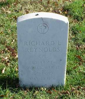REYNOLDS (VETERAN WWII), RICHARD L - Pulaski County, Arkansas | RICHARD L REYNOLDS (VETERAN WWII) - Arkansas Gravestone Photos