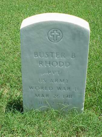 RHODD (VETERAN WWII), BUSTER B - Pulaski County, Arkansas | BUSTER B RHODD (VETERAN WWII) - Arkansas Gravestone Photos