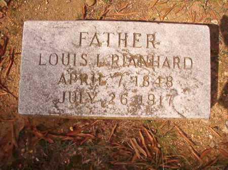 RIANHARD, LOUIS L - Pulaski County, Arkansas | LOUIS L RIANHARD - Arkansas Gravestone Photos