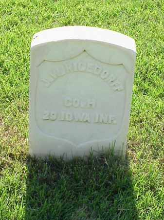 RICEDORFF (VETERAN UNION), J W - Pulaski County, Arkansas   J W RICEDORFF (VETERAN UNION) - Arkansas Gravestone Photos