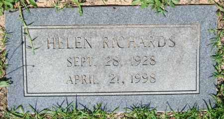 RICHARDS, HELEN - Pulaski County, Arkansas | HELEN RICHARDS - Arkansas Gravestone Photos