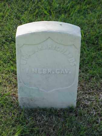 RICHARDS (VETERAN UNION), CHARLES R - Pulaski County, Arkansas | CHARLES R RICHARDS (VETERAN UNION) - Arkansas Gravestone Photos