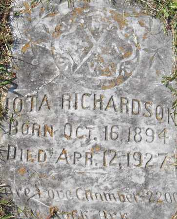 RICHARDSON, LOTA - Pulaski County, Arkansas | LOTA RICHARDSON - Arkansas Gravestone Photos