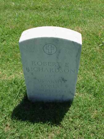 RICHARDSON (VETERAN KOR), ROBERT E - Pulaski County, Arkansas | ROBERT E RICHARDSON (VETERAN KOR) - Arkansas Gravestone Photos