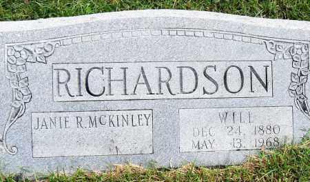RICHARDSON, WILL - Pulaski County, Arkansas   WILL RICHARDSON - Arkansas Gravestone Photos