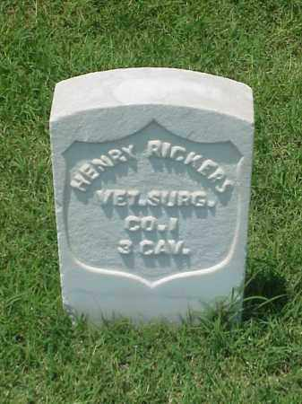RICKERS (VETERAN UNION), HENRY - Pulaski County, Arkansas | HENRY RICKERS (VETERAN UNION) - Arkansas Gravestone Photos