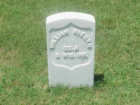 RIESEN (VETERAN UNION), WILLIAM - Pulaski County, Arkansas | WILLIAM RIESEN (VETERAN UNION) - Arkansas Gravestone Photos