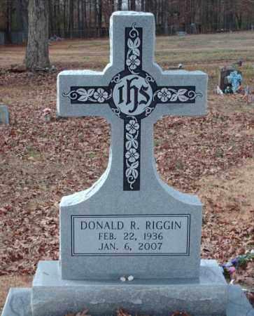 RIGGIN, DONALD R. - Pulaski County, Arkansas | DONALD R. RIGGIN - Arkansas Gravestone Photos