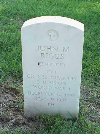 RIGGS (VETERAN WWI), JOHN M - Pulaski County, Arkansas | JOHN M RIGGS (VETERAN WWI) - Arkansas Gravestone Photos