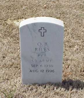 RILES (VETERAN), O B - Pulaski County, Arkansas | O B RILES (VETERAN) - Arkansas Gravestone Photos