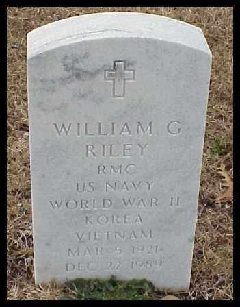 RILEY (VETERAN 3 WARS), WILLIAM G - Pulaski County, Arkansas | WILLIAM G RILEY (VETERAN 3 WARS) - Arkansas Gravestone Photos