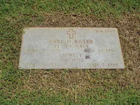 RILLER (VETERAN KOR), EARL H - Pulaski County, Arkansas | EARL H RILLER (VETERAN KOR) - Arkansas Gravestone Photos