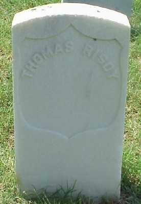 RISDY (VETERAN UNION), THOMAS - Pulaski County, Arkansas | THOMAS RISDY (VETERAN UNION) - Arkansas Gravestone Photos