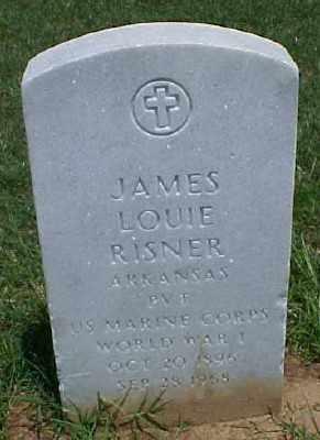 RISNER (VETERAN WWI), JAMES LOUIE - Pulaski County, Arkansas | JAMES LOUIE RISNER (VETERAN WWI) - Arkansas Gravestone Photos