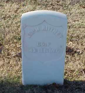 RITTNER (VETERAN UNION), JOHN - Pulaski County, Arkansas   JOHN RITTNER (VETERAN UNION) - Arkansas Gravestone Photos