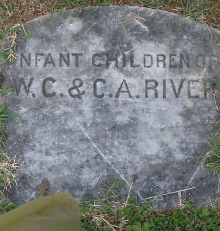 RIVERS, INFANT CHILDREN - Pulaski County, Arkansas   INFANT CHILDREN RIVERS - Arkansas Gravestone Photos