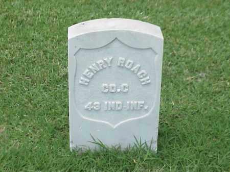 ROACH (VETERAN UNION), HENRY - Pulaski County, Arkansas   HENRY ROACH (VETERAN UNION) - Arkansas Gravestone Photos