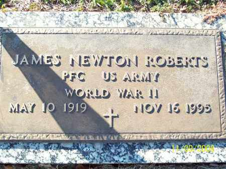 ROBERTS  (VETERAN WWII), JAMES NEWTON - Pulaski County, Arkansas | JAMES NEWTON ROBERTS  (VETERAN WWII) - Arkansas Gravestone Photos