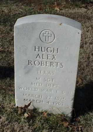 ROBERTS (VETERAN 2 WARS), HUGH ALEX - Pulaski County, Arkansas | HUGH ALEX ROBERTS (VETERAN 2 WARS) - Arkansas Gravestone Photos