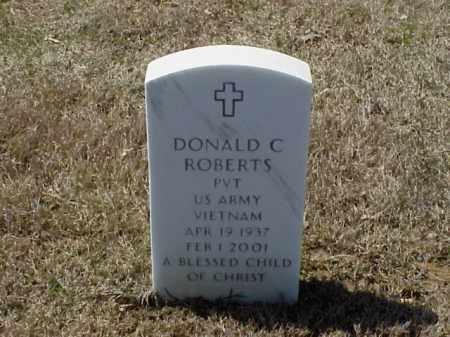 ROBERTS (VETERAN VIET), DONALD C - Pulaski County, Arkansas | DONALD C ROBERTS (VETERAN VIET) - Arkansas Gravestone Photos