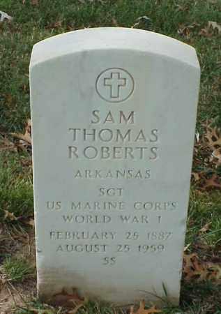 ROBERTS (VETERAN WWI), SAM THOMAS - Pulaski County, Arkansas   SAM THOMAS ROBERTS (VETERAN WWI) - Arkansas Gravestone Photos