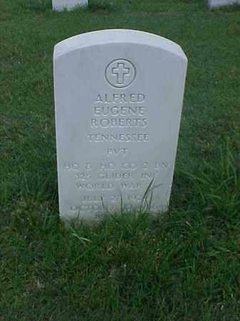 ROBERTS (VETERAN WWII), ALFRED EUGENE - Pulaski County, Arkansas | ALFRED EUGENE ROBERTS (VETERAN WWII) - Arkansas Gravestone Photos